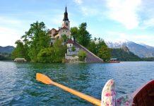езерото блед в словения