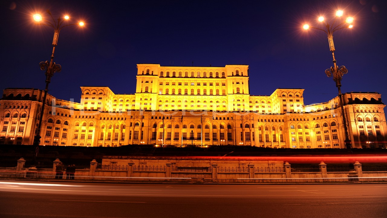 Ромънския-парламент