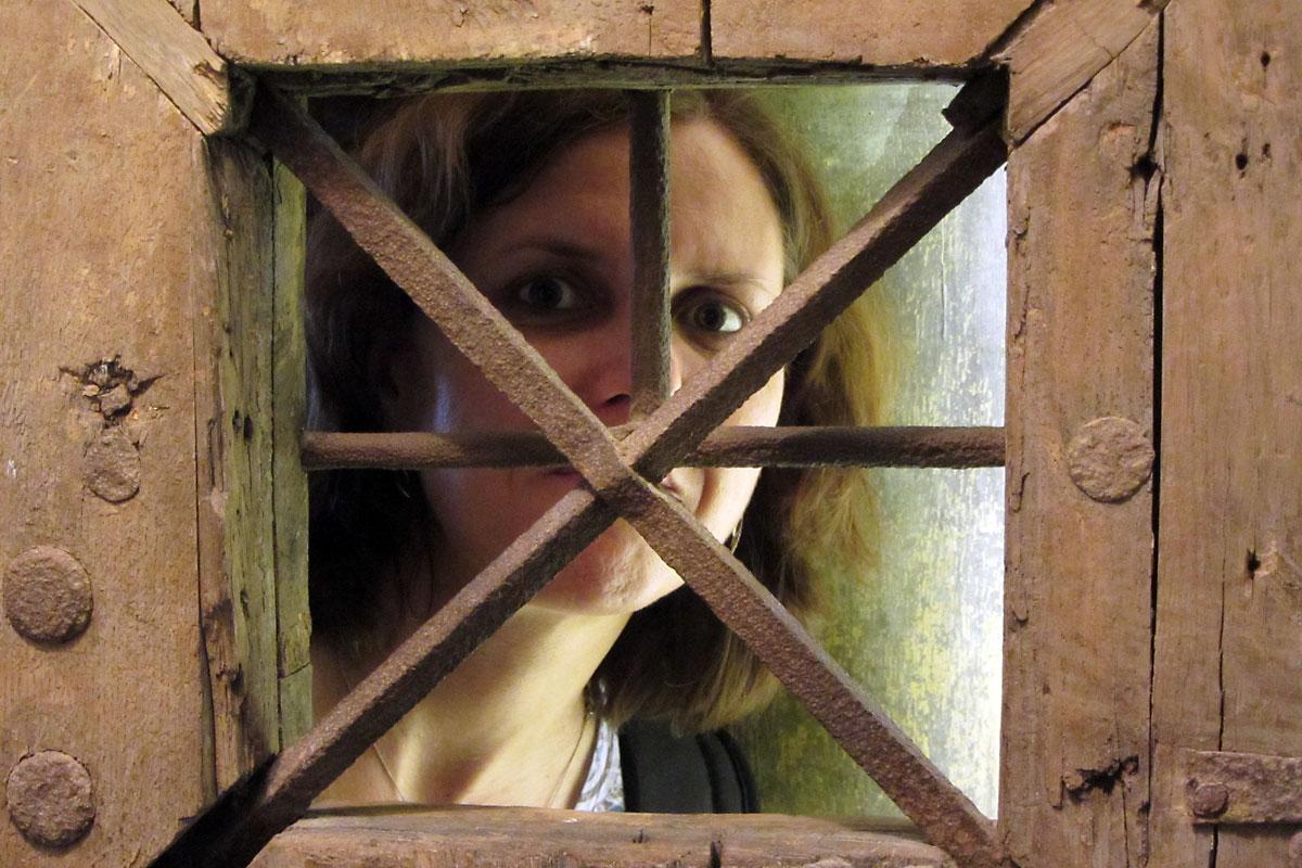 Люблянски замък: в килиите / снимка Друми в думи