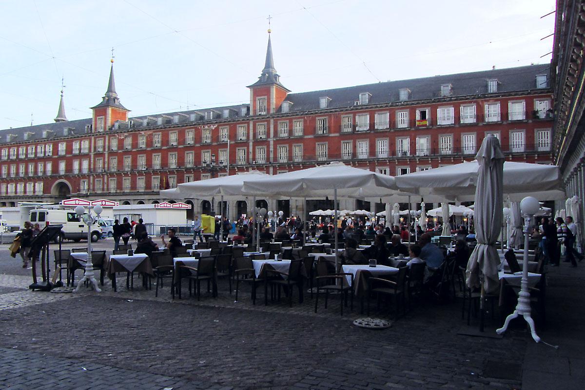 Мадрид: плаза Майор