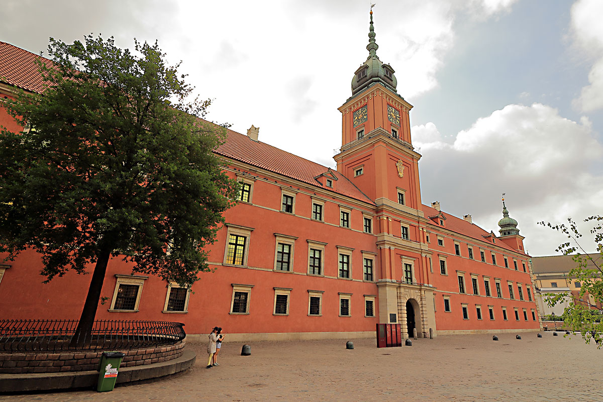Кралският замък в Стария град