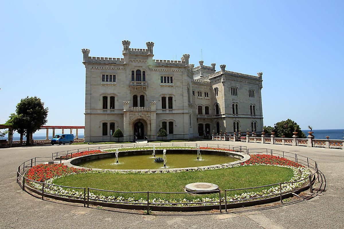 Триест: замъкът Мирамаре