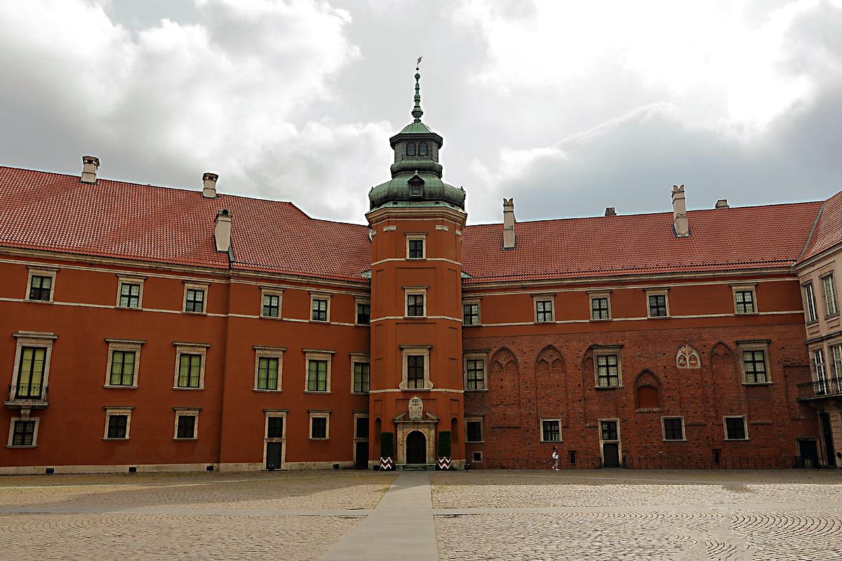 Варшава: кралският замък