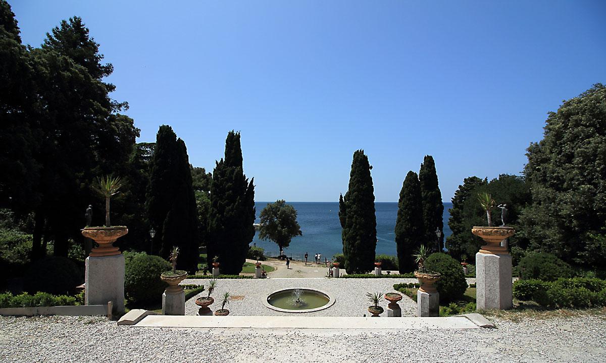 Градините на замъка Мирамаре