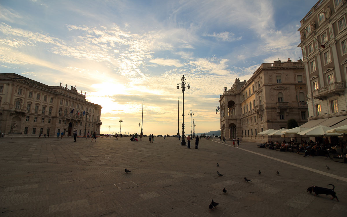 Пиаца Унита: един от най-големите европейски площади