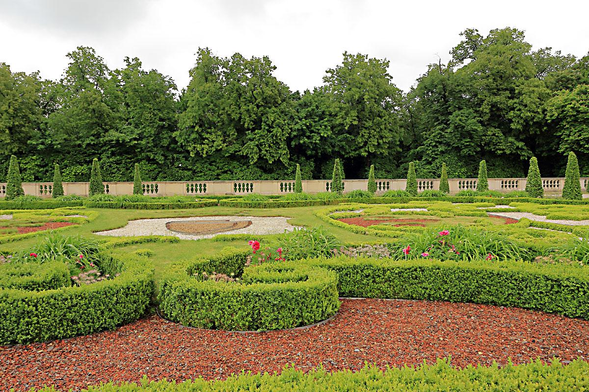 Градините на двореца Виланов