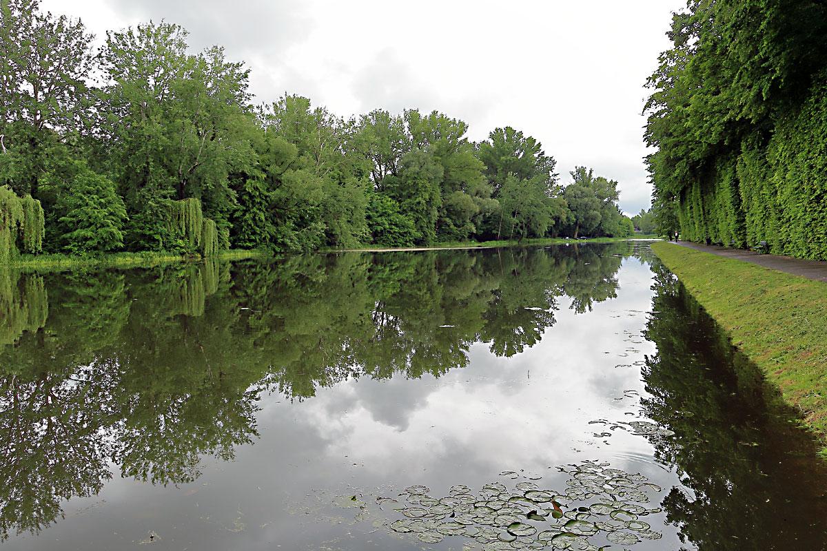 Варшава: езерото Виланов