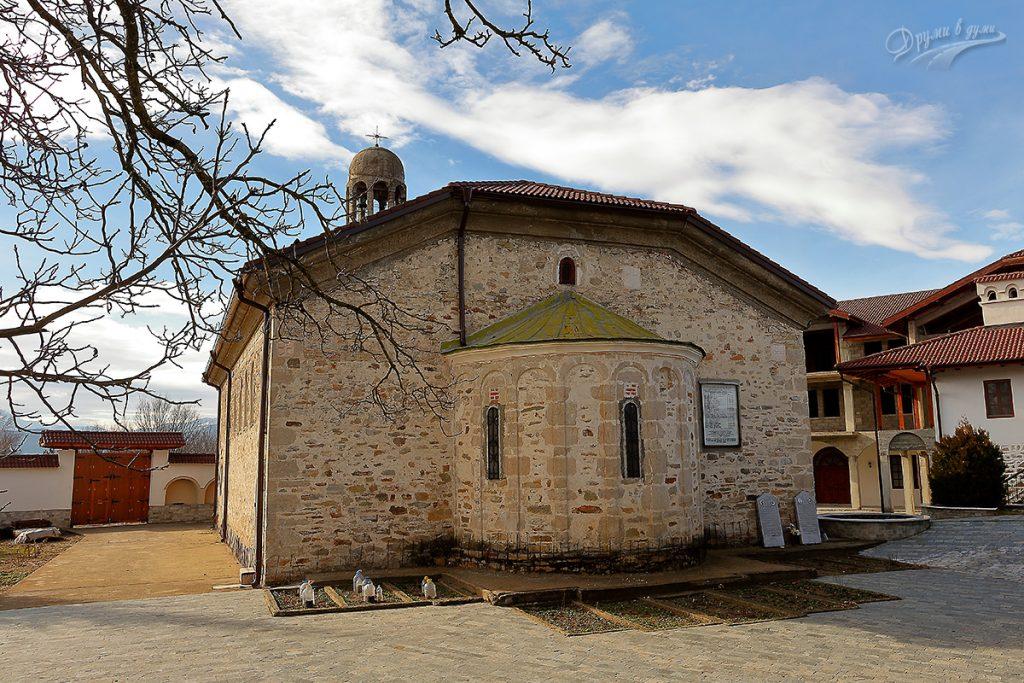 Хаджидимовски манастир - църквата