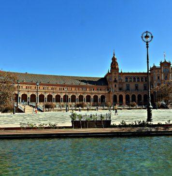 Севиля, площад Испания