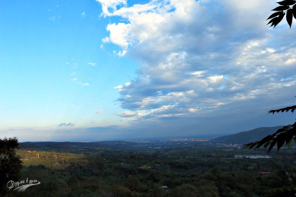 Едеса: панорама към Долния град