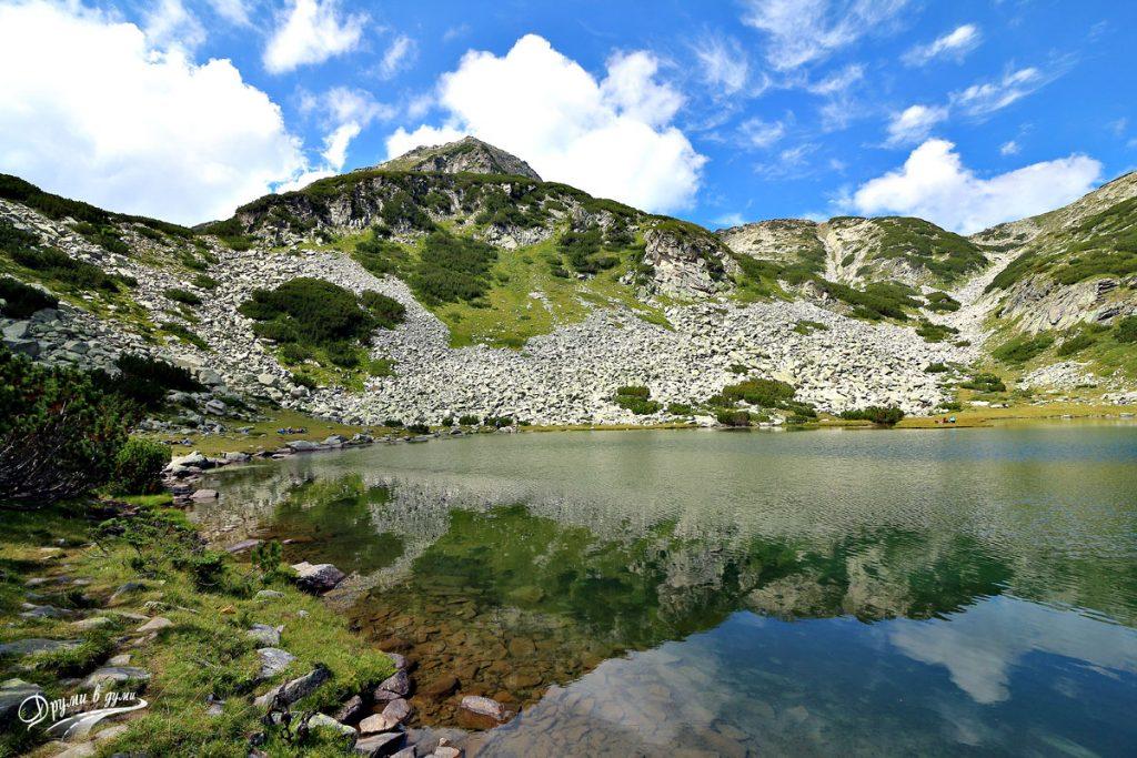 На брега на Муратовото езеро