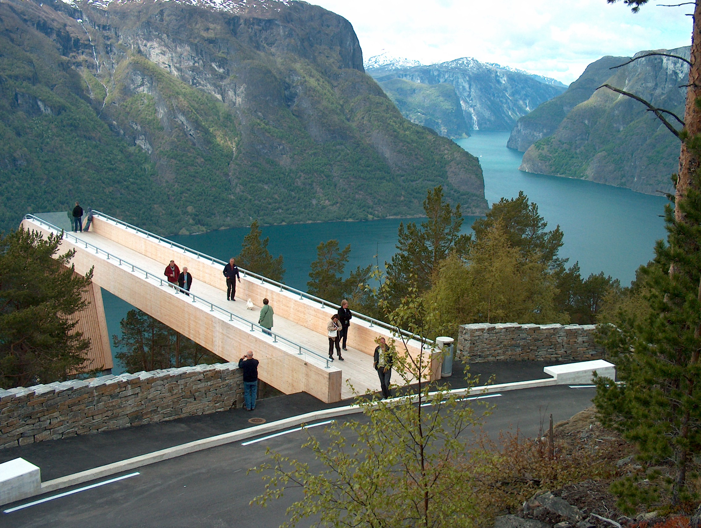 5.Норвегия - Aurland Lookout