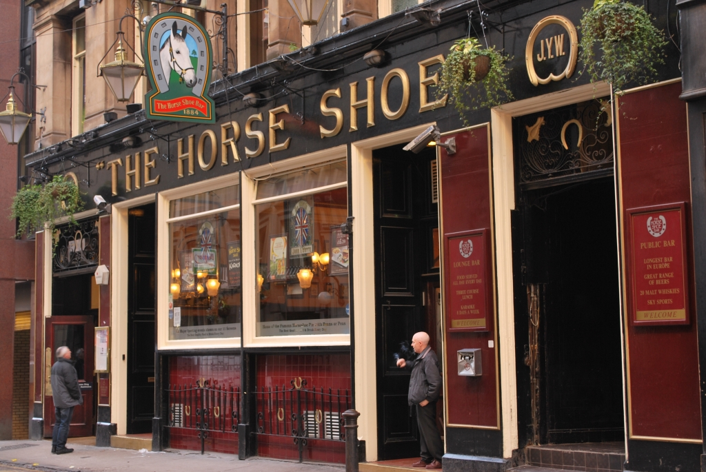 The Horse Shoe Bar, Glasgow, Scotland