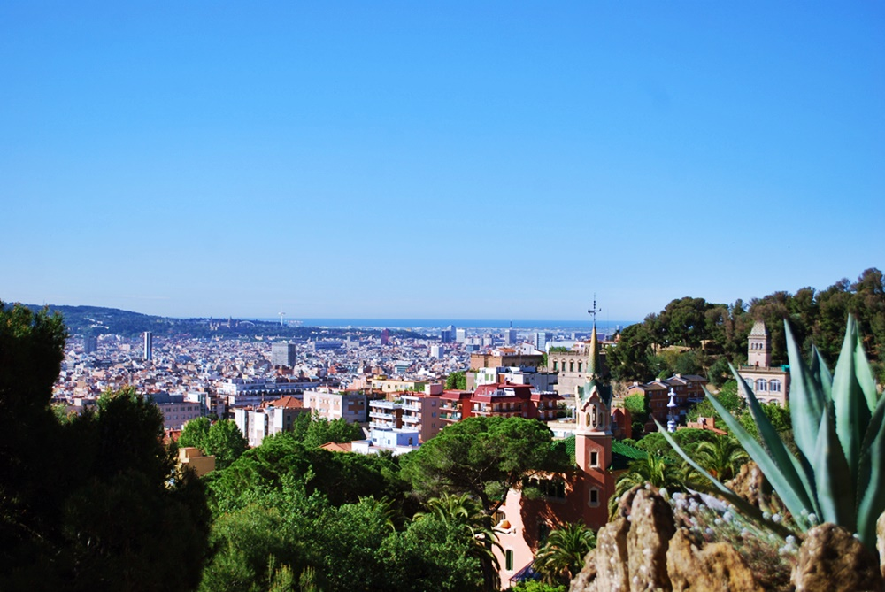 Парк Гюел Барселона