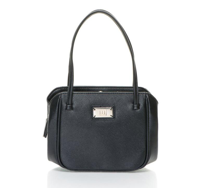 Geox : Black 3 Compartments Handbag | FashionDays