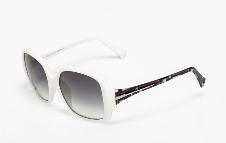 Emilio Pucci : White&Black Sunglasses | FashionDays