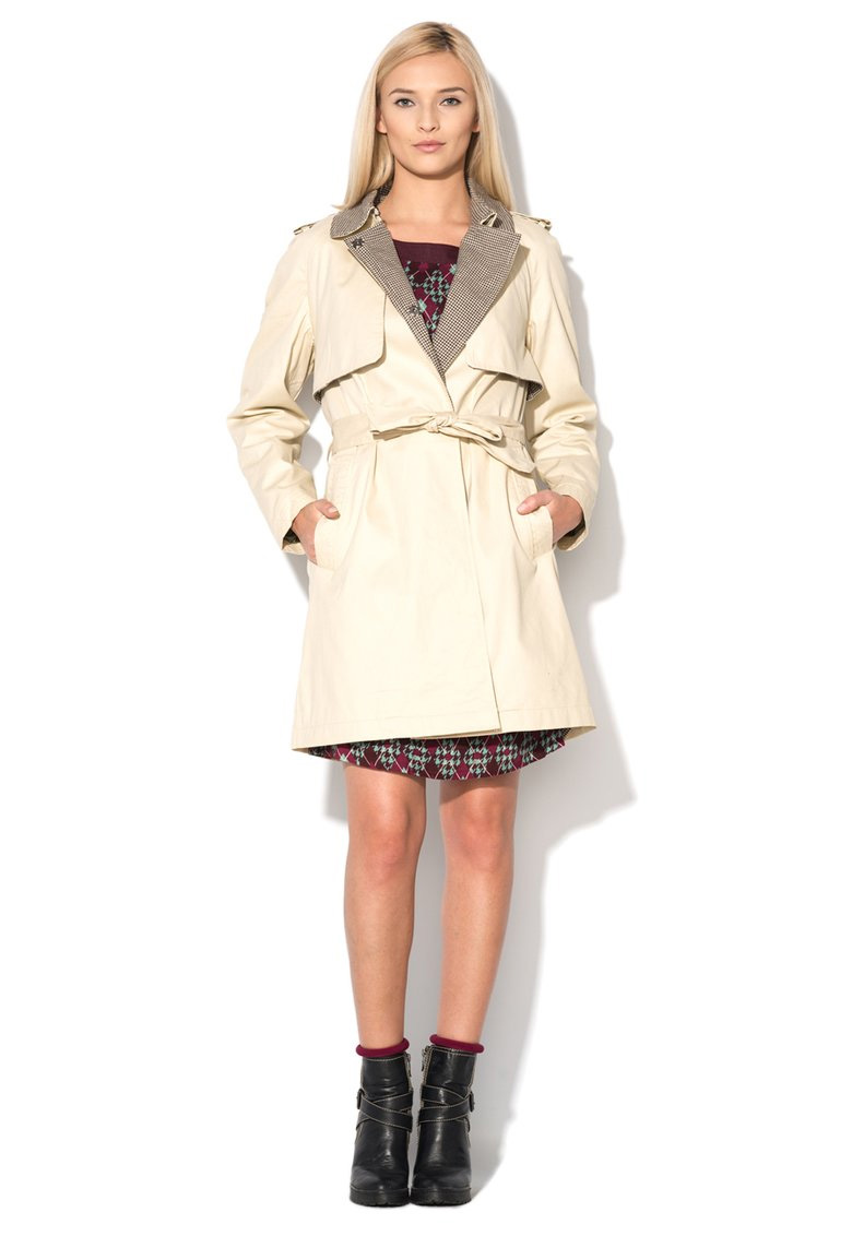 Riverside : Beige Trench | FashionDays