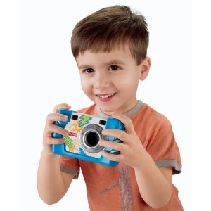 Дете, което прави снимка
