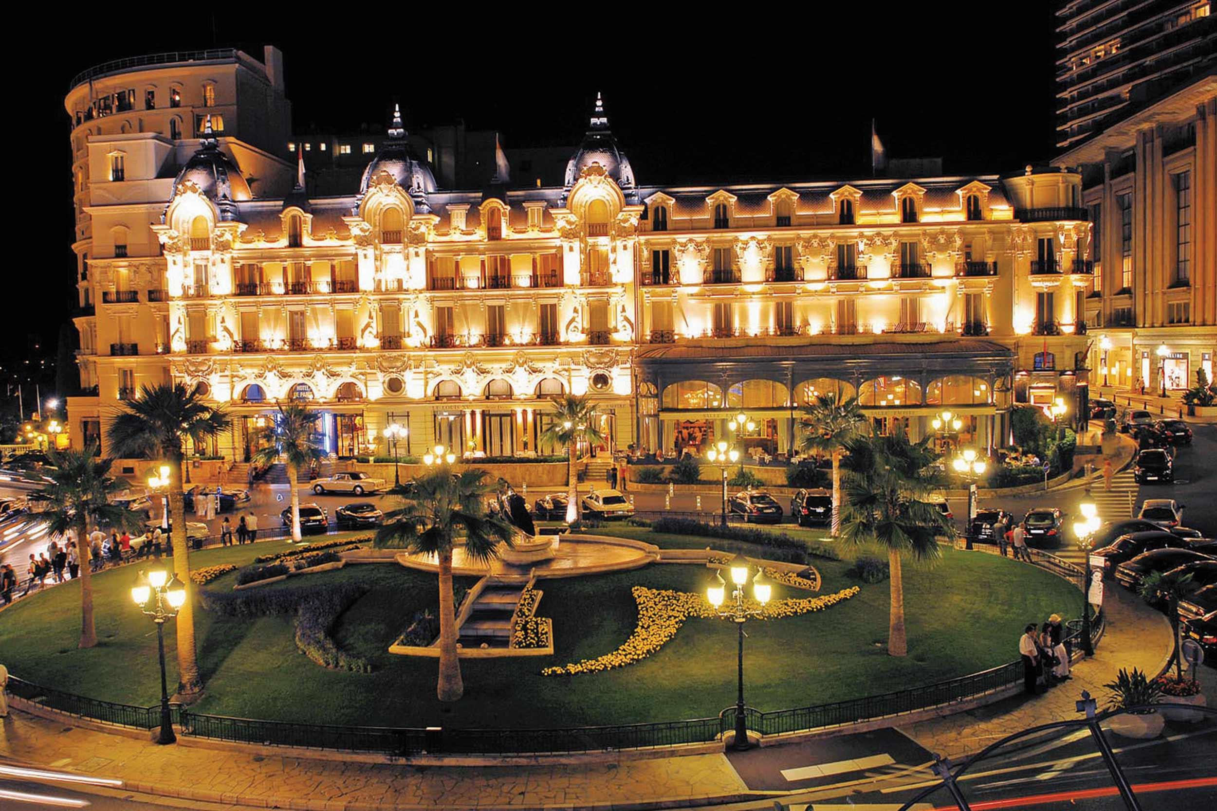 хотел Hotel de Paris в Монте Карло