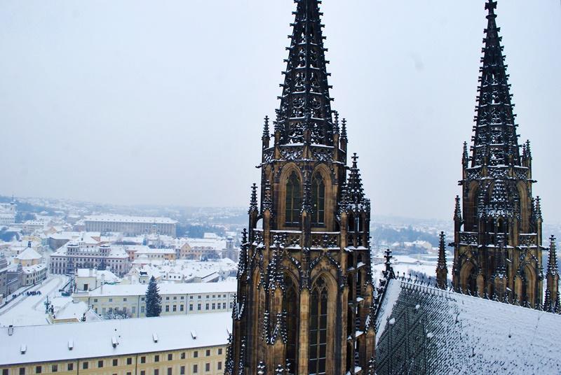 Прага пре зимата - замък Храдчани