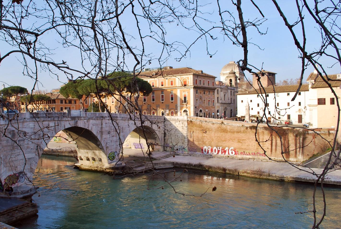Рим за 3 дни - Остров Тибър