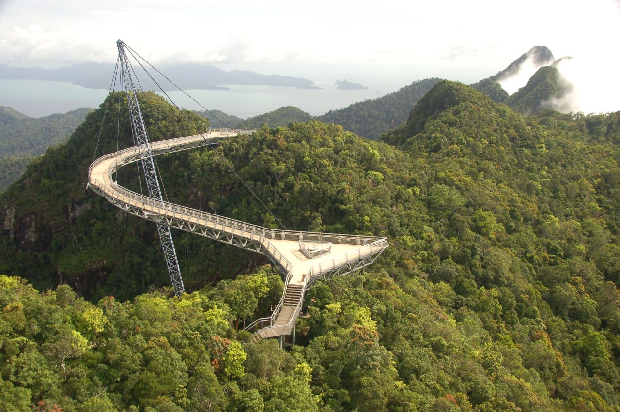 10.	Малайзия - Langkawi Sky Bridge