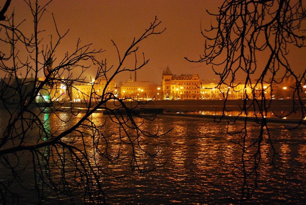 Прага през зимата
