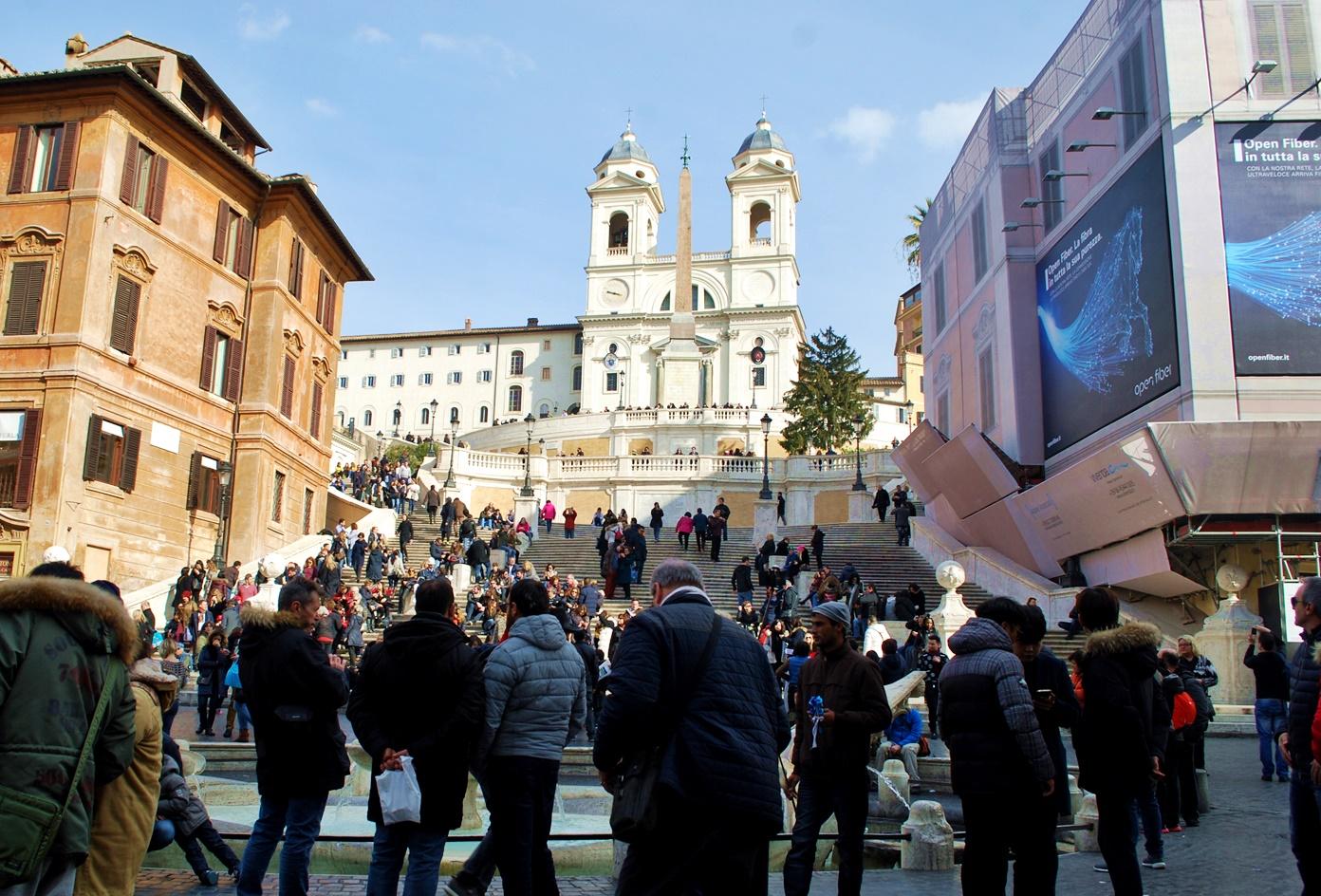 Рим за 3 дни - Испанските стълби
