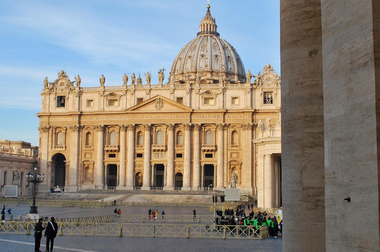 Рим за 3 дни - площад Свети Петър
