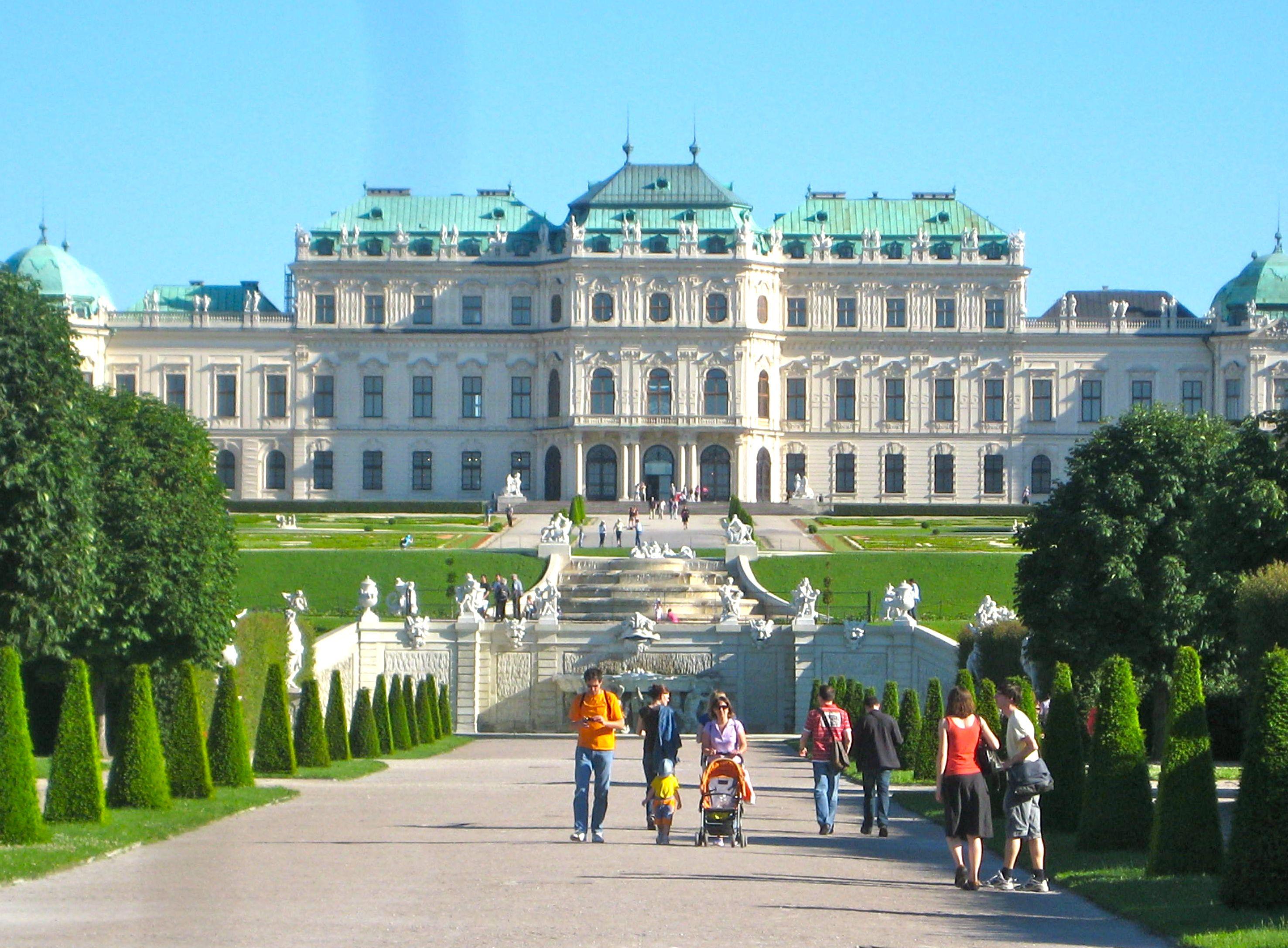 Belvedere Palace, Виена