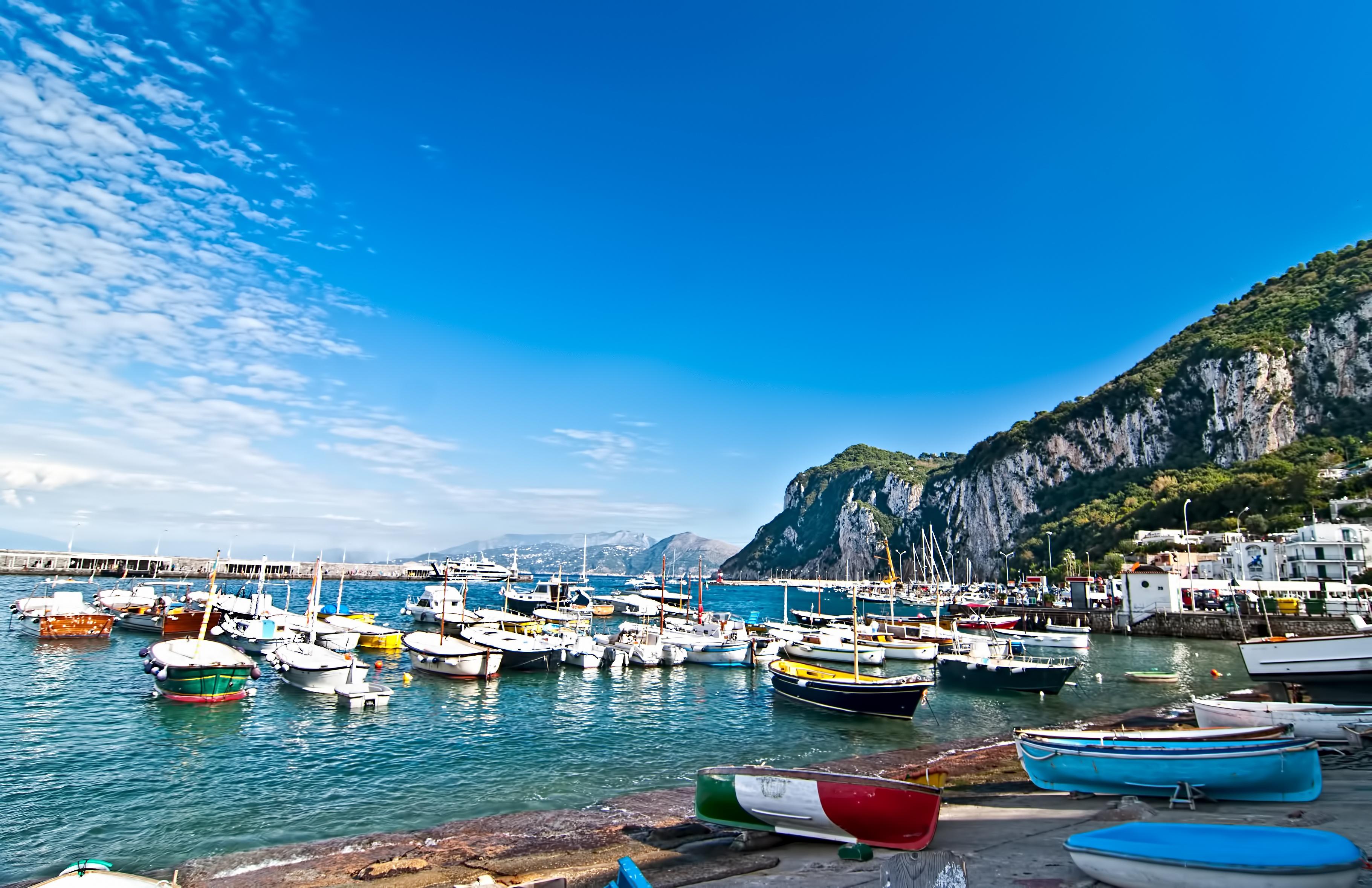 остров Капри, Италия