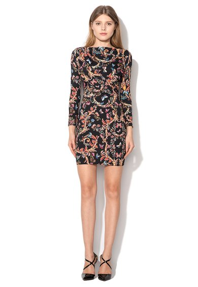 Just Cavalli : Black Dress With Print | FashionDays