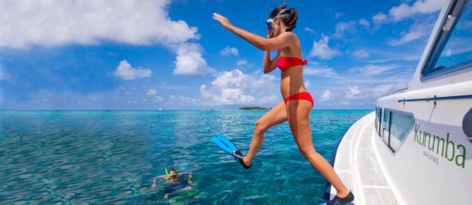 Гмуркане - Малдиви