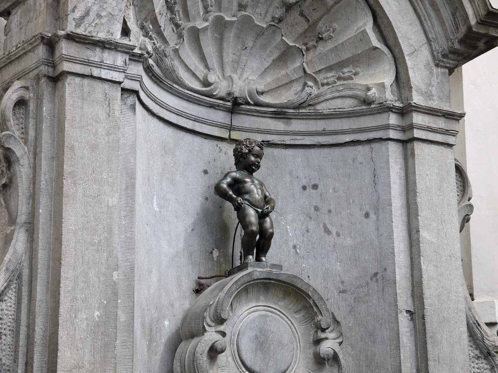 Пикаещото момченце, Брюксел, Белгия