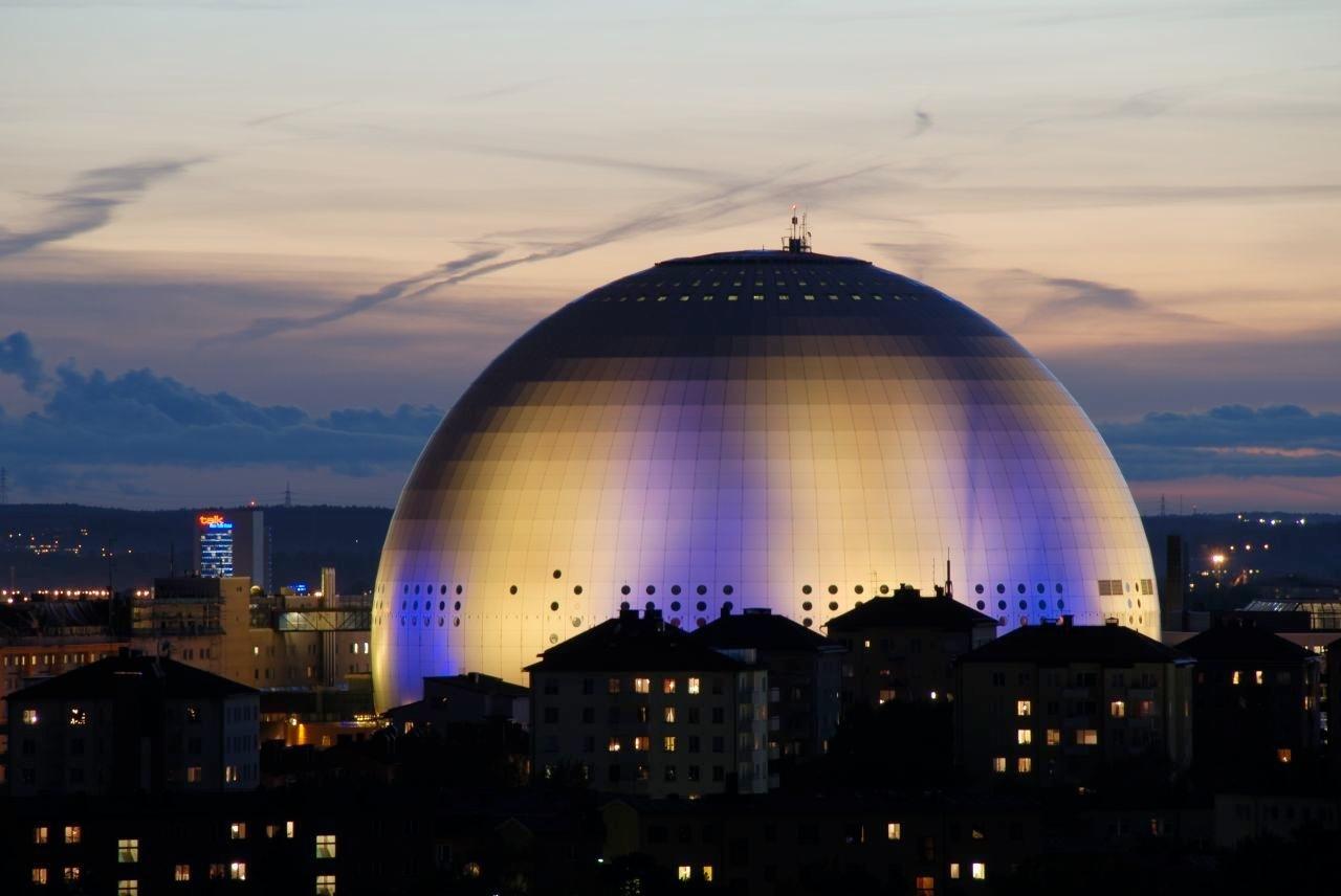 4.Стокхолм, Швеция - Ericsson Globe