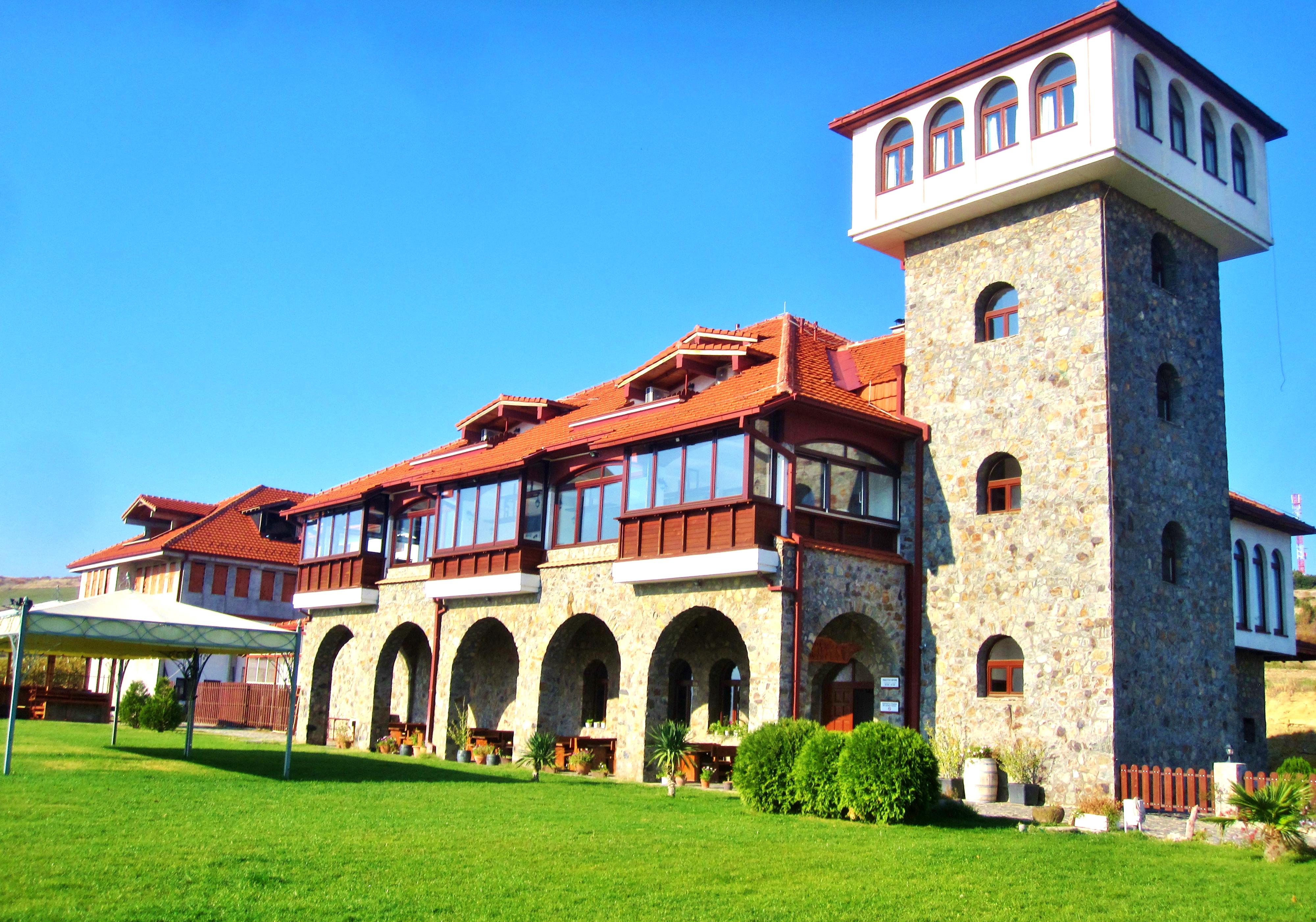 Хотел-винарна Попова кула, Македония