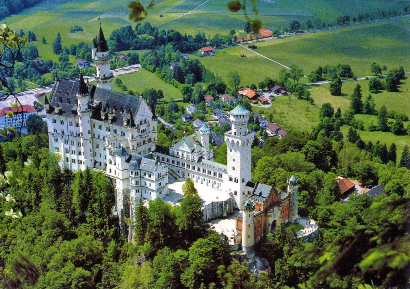 НОЙШВАЙНЩАЙН - Бавария, Германия