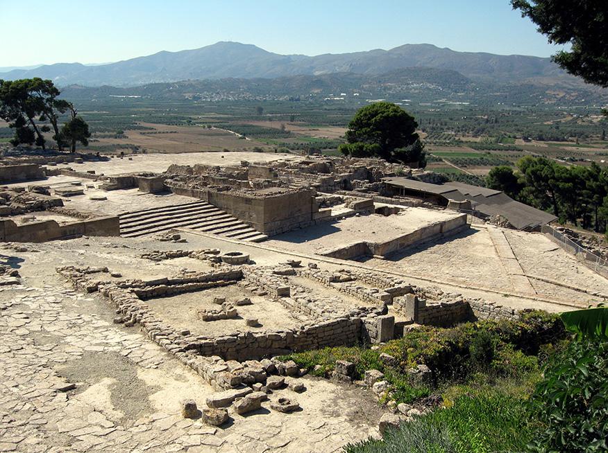 дворецът-фестос-остров-крит