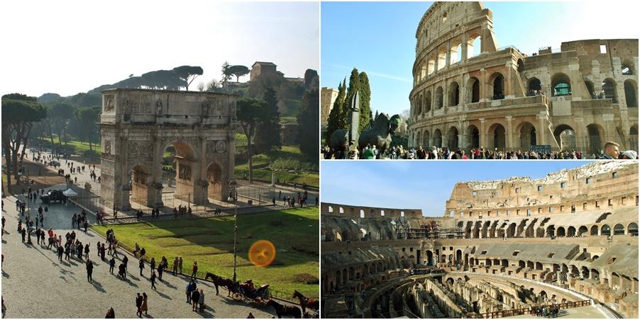 Рим за 3 дни - колизеумъ и римският форум