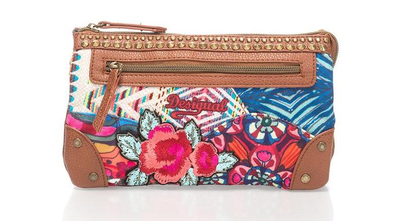 Desigual : Multicolored Print Clutch | FashionDays