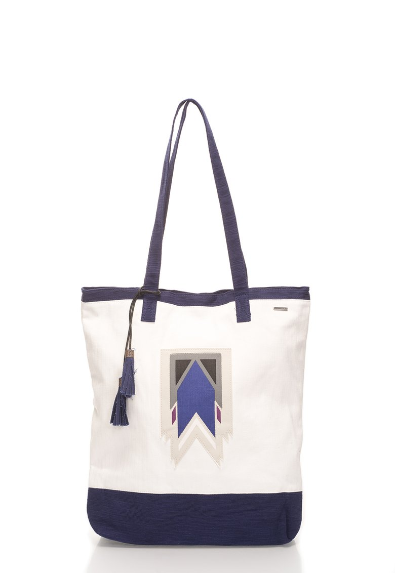Roxy : Persian Blue&White Tote Bag | FashionDays