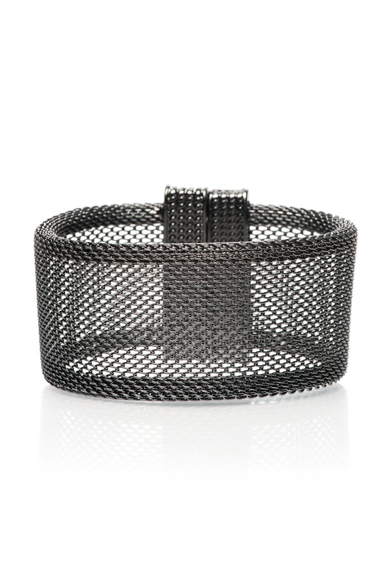 Pieces : Gunmetal Magnetic Mesh Bracelet