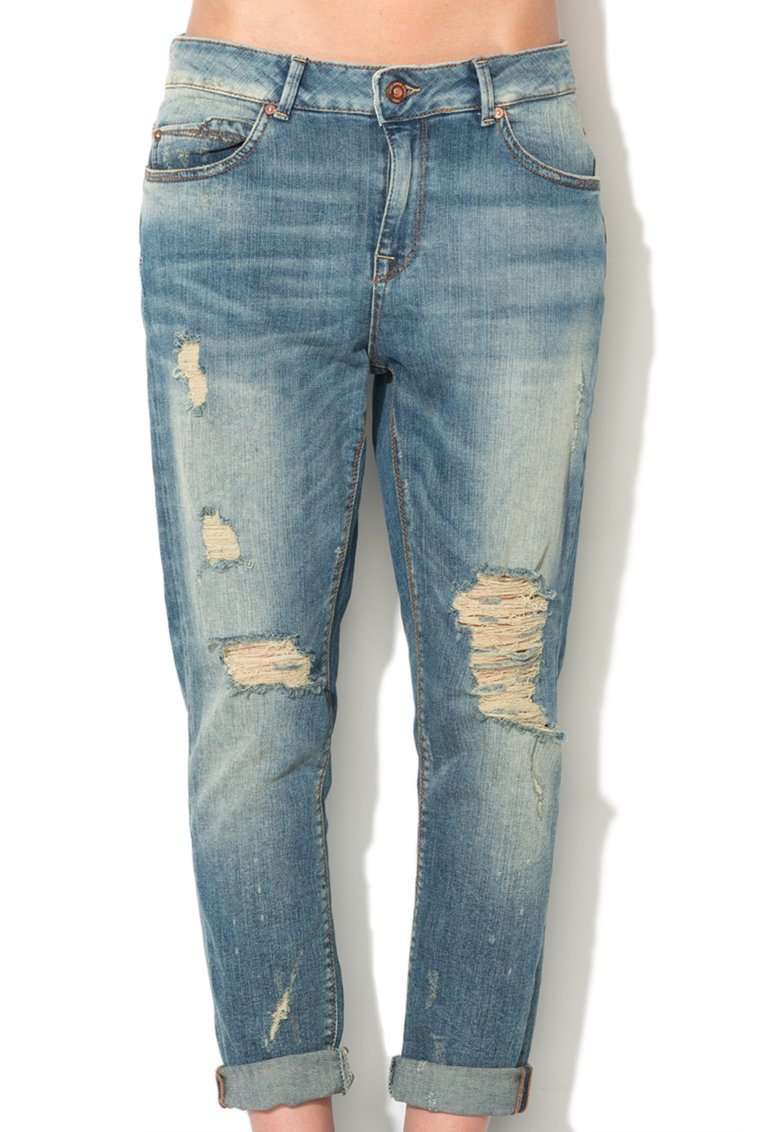 Only: Drew Boyfriend Jeans with Used Aspect | FashionDays